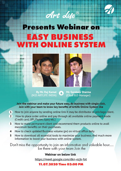 Webinar on 11th July2020